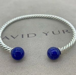 David Yurman Solari Bracelet Lapis & Diamonds